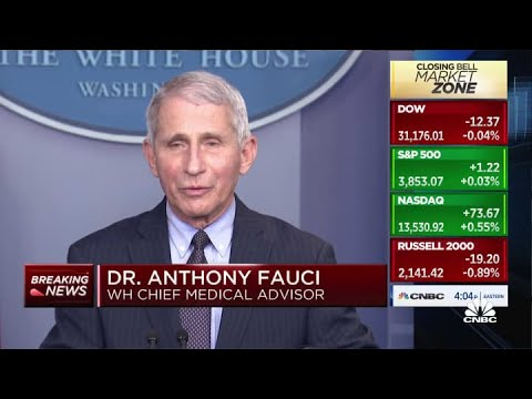 The Latest: Dr. Fauci: Vaccines can adjust to virus variants