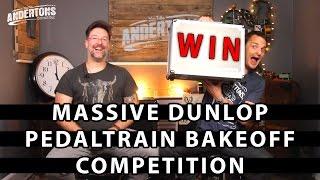 Win a £2000 Pre Built Pedal Board from Dunlop, Pedal Train, MXR & Way Huge!!
