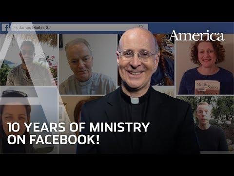 Celebrating 10 Years of Fr. James Martin on Facebook