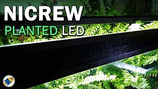 NICREW Planted LED Aquarium Light RGB Review   Full Spectrum Planted Aquarium LED - MR BRIGHTFRYED