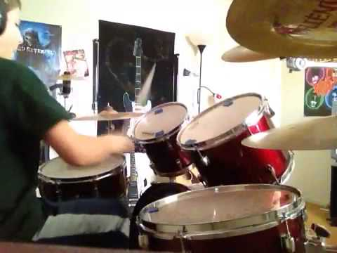 Five finger death punch watch you bleed drum cover