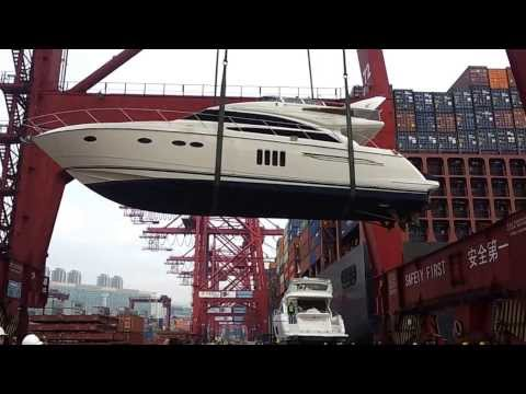 Yacht delivery and shipping in hong kong by www.asia-boating.com