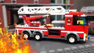 ПОЖАР в Лего Сити 🔥 LEGO Мультфильм