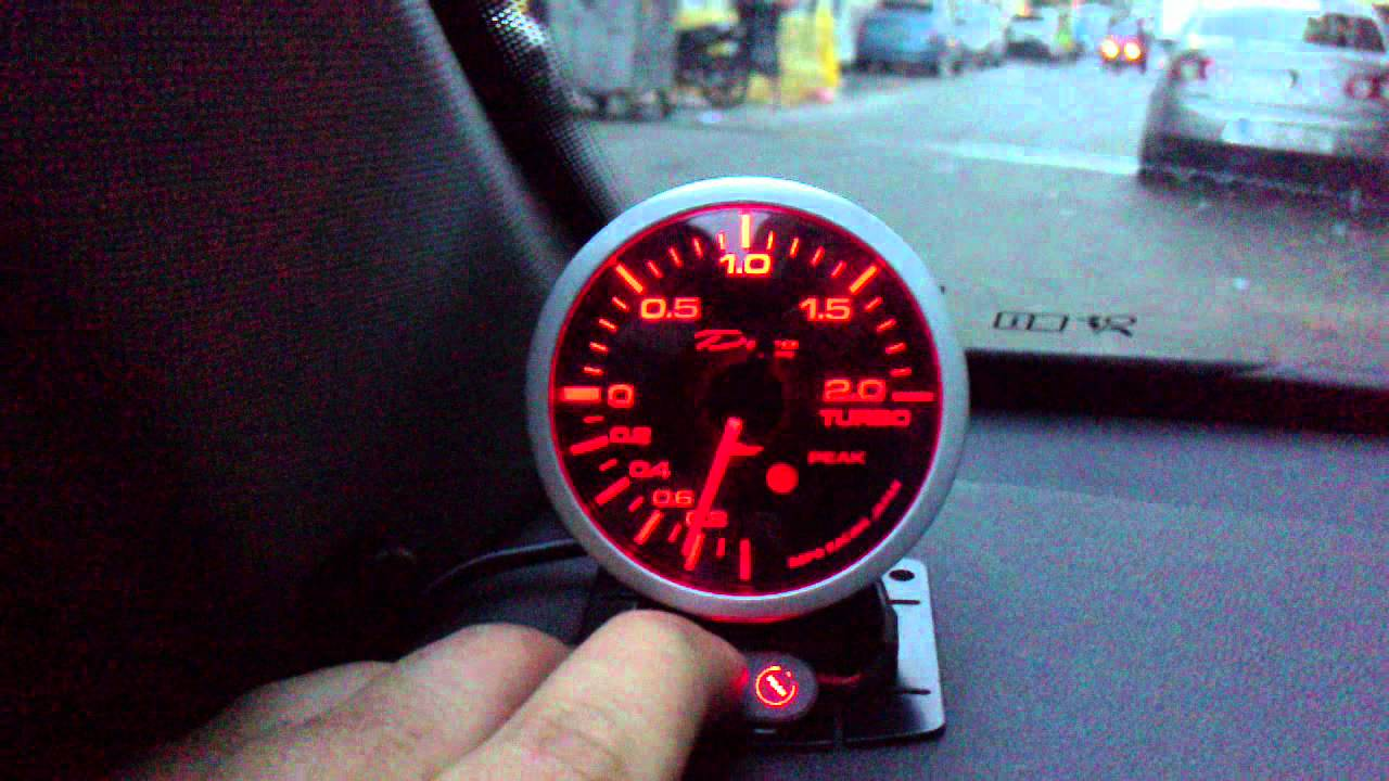 maxresdefault depo racing boost gauge mp4 youtube depo gauge wiring diagram at n-0.co