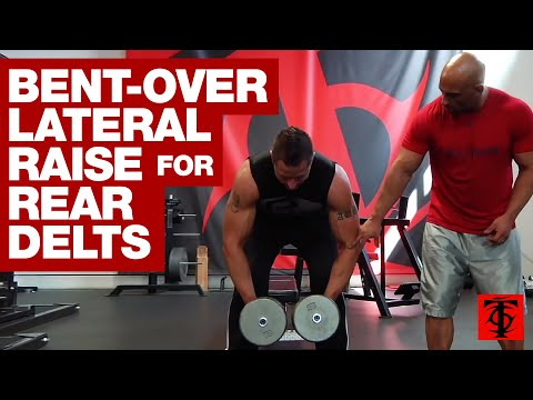 Bent-Over Lateral Raise