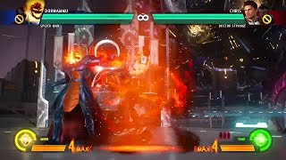 Marvel vs. Capcom: Infinite - All Throws (Grab Attacks)