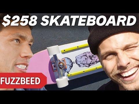 $15 SKATEBOARD VS $258 SKATEBOARD