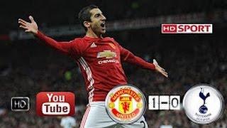 Manchester United Vs Tottenham 1-0 Full Match Highlights 11/12/2016