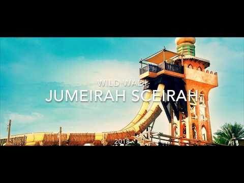 Wild Wadi Dubai – Jumeirah Sceirah | Extreme Trapdoor Waterslide Onride | Teddynage