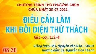 HTTL PHAN RANG - Chương trình thờ phượng Chúa - 25/07/2021