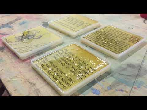 Epoxy Resin Coasters