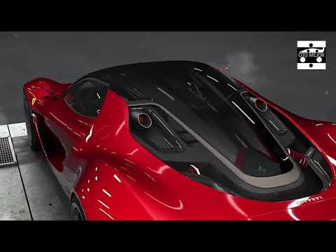 Ferrari Stallone 2021 – next year Sport Car CONCEPT Generation