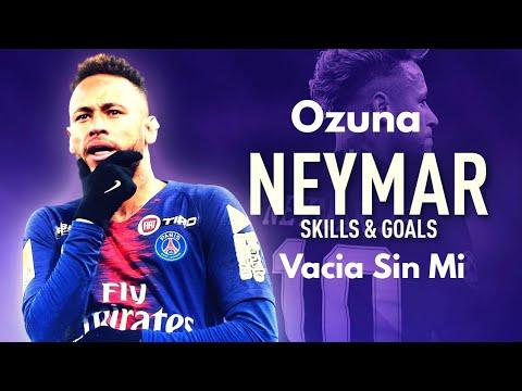 Neymar Jr ►Vacia Sin Mi- Ozuna● Skills & Goal 2018/19 | HD