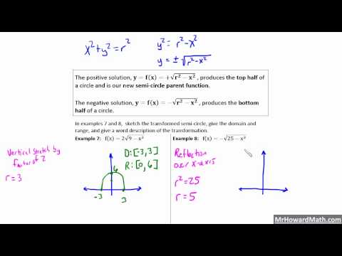Semicircle Functions