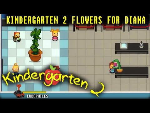 Kindergarten 2 - Flowers For Diana Walkthrough / Full Playthrough / Longplay (no Commentary)