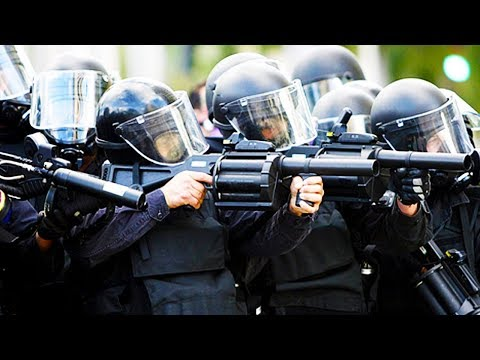 Trump To Give Police Grenade Launchers AND MORE!!!
