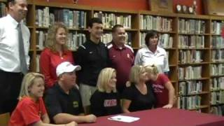 Emily Sissom signs with Union University