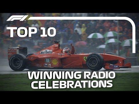 Top 10 Race-Winning Radio Celebrations