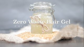 Zero Waste Linseed Hair Gel - Anti Frizz - Curly Hair - Natural
