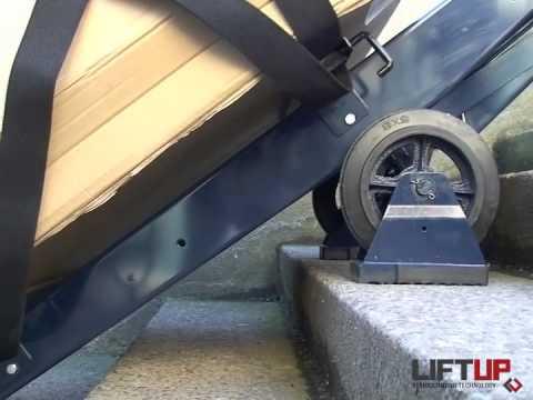 liftup treppensteiger treppenlift forte youtube. Black Bedroom Furniture Sets. Home Design Ideas