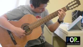 A Certain Sadness - Astrud Gilberto (solo guitar cover)