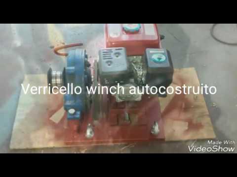 Verricello Winch Autocostruito Youtube