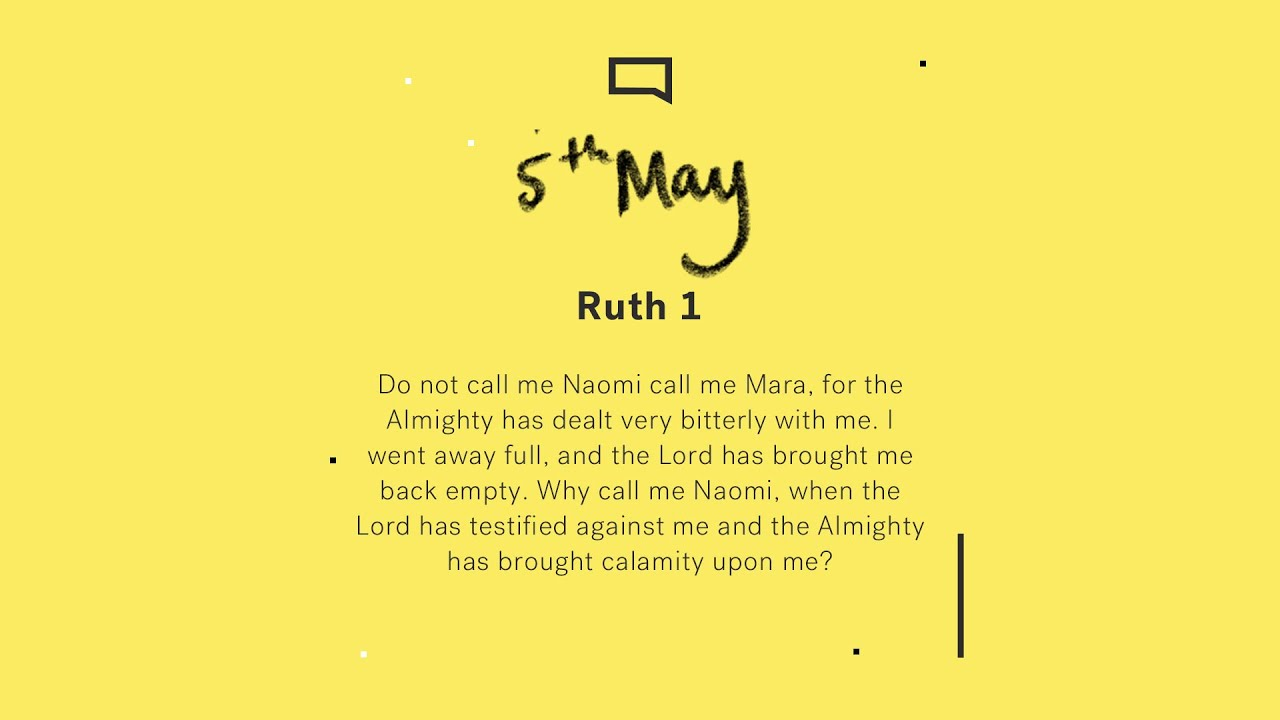 Daily Devotion with Rachel Fellingham // Ruth 1 Cover Image
