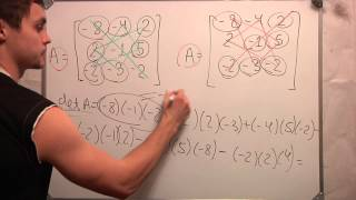 Определитель матрицы 3х3.Линейная алгебра. Студент. Ч 1.