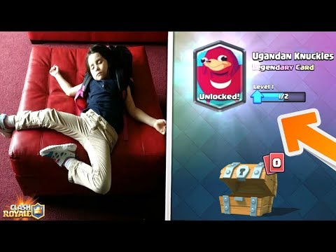 Kid Out After Unlocking Rarest Card In Clash Royale Top Most Insane Reactions