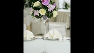 свадьба в сиреневых цветах Алматы, оформление тканью, шарами и живыми цветами(, 2015-07-18T16:07:37.000Z)
