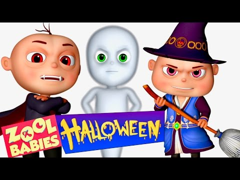 Thumbnail: Zool Babies Halloween Show | Zool Babies Series | Cartoon Animation For Children