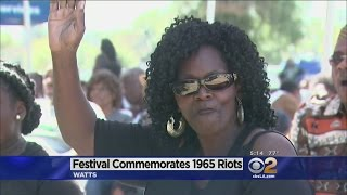 Deadly Watts Riots Rememberd With Annual Summer Festival