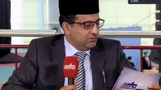 Khalifa of Islam in Germany 2015: Interview with Amir Jamaat Germany