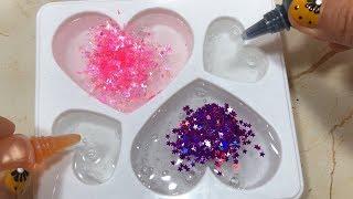 Glitter Slime Making - Most Satisfying Slime Videos #7   Tom Slime