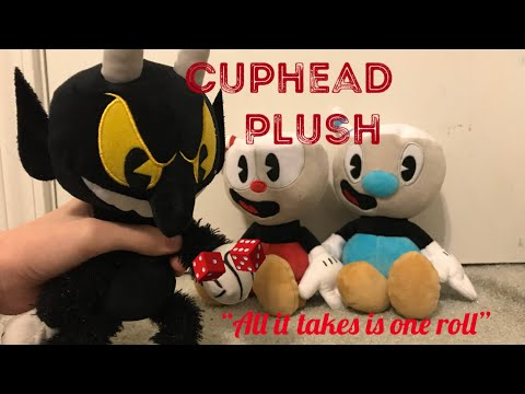 """Cuphead Plush Episode 1: """"All it takes is one roll"""""""