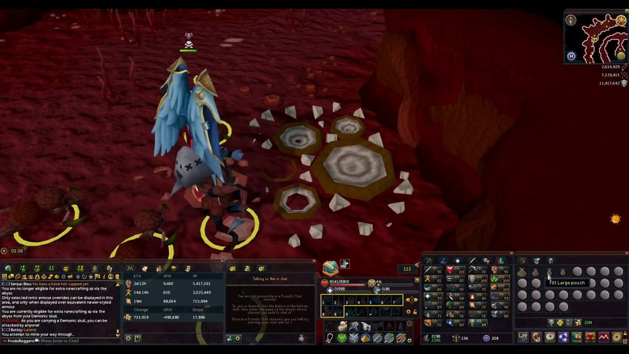 Abyss RuneCrafting Guide - Fastest XP + Money - RS3 2016