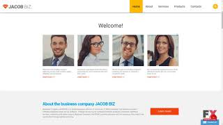 Business Responsive Website Template TMT | Free Template  Jackie Bent