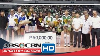 UAAP 78 WV Finals: Special Awards Women's Division
