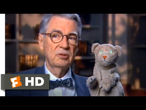 Won T You Be My Neighbor 2018 Daniel Striped Tiger Is The Real Fred Scene 3 10 Movieclips Youtube