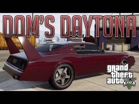 Dom's Daytona Fast & Furious 6 (Imponte Phoenix) : GTA V Custom Car Build