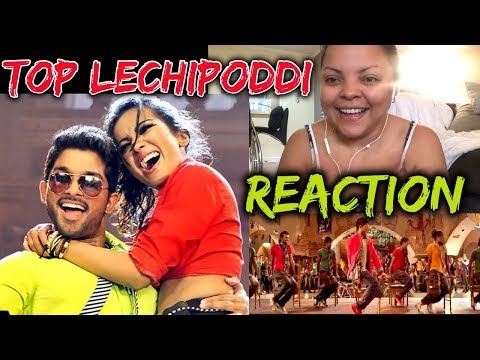 Top Lechipoddi Video Song Reaction | Alu...