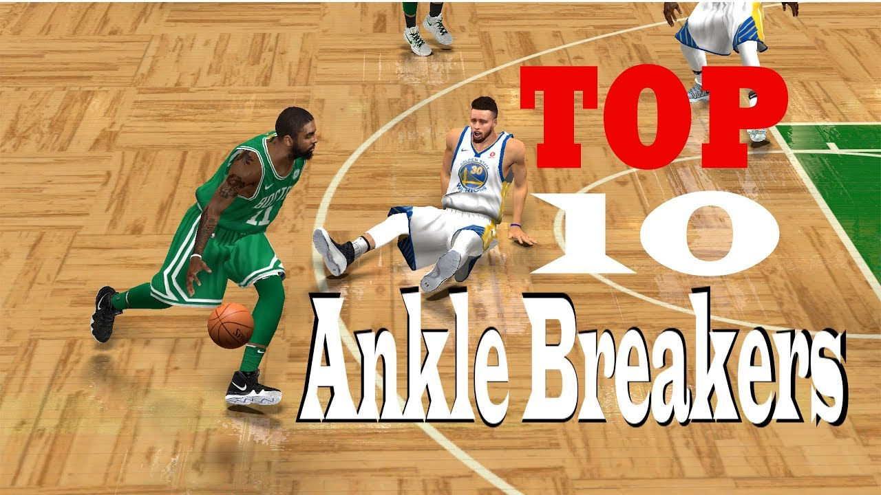 Kyrie Irving TOP 10 Ankle Breakers | NBA 2K14 - NBA 2K18 Mod by Kano2K  Gameplay