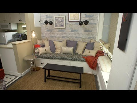 This Tiny Apartment -- Inside an Old MALL -- Gets a Massive Makeover | Rachael Ray Show