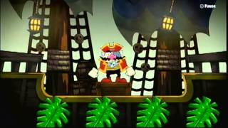 Game & Wario (Wii U) - Pirates Gameplay - All levels