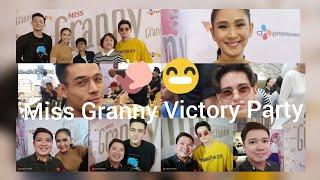 SARAH GERONIMO WALANG BAHID NG KAYABANGAN! MISS GRANNY VICTORY PARTY | CHIKKANESS AVE VLOG