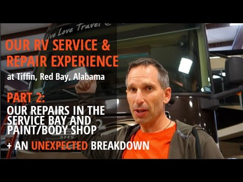 FIXING OUR RV: REPAIRS & COSTS | Part 2 of Our Service/Paint Experience at Tiffin