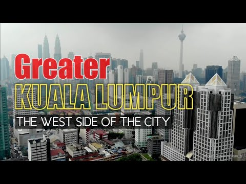 West Part Of KUALA LUMPUR City Center | Mavic Air 1km TapFly - Free mode