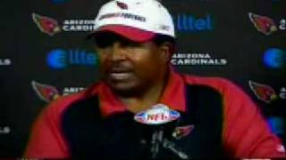 """Dennis Green """"They are what we thought they were, and we let them off the hook!"""""""