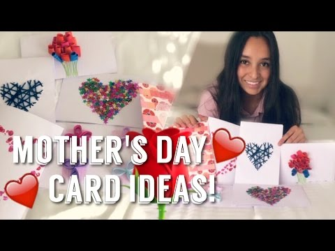 6 AWESOME MOTHER'S DAY CARD IDEAS!!!