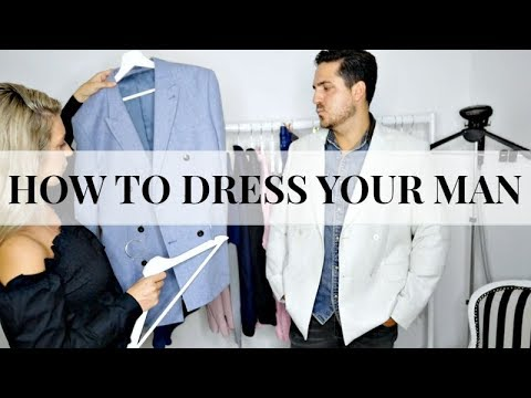 HOW TO DRESS YOUR MAN | MENS FASHION HAUL | IAM CHOUQUETTE